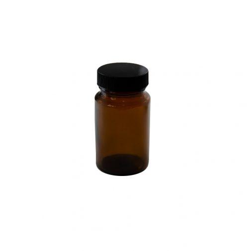צנצנת פט תוספי מזון 75 חום